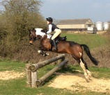 Tabatha&Barney X-Country Lesson with Robert Massey