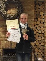 Pony Club Awards 2016 - Tabatha Massey