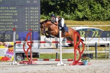 Dina Mercedes Bernthaler auf Joy - 1. Platz Maribor