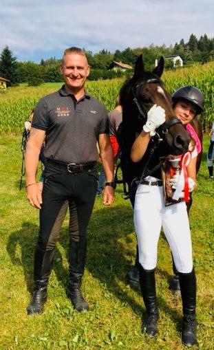 Sophia Pregnolato mit Australia / Trainer/Coach Robert K Massey