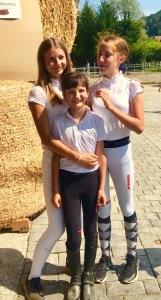 Selina, Nina und Lena