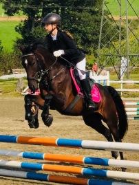 Sophia Pregnolato auf Australia/ Massey Equestrian International